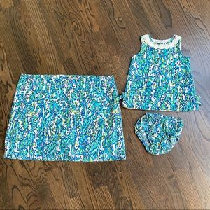 Lilly Pulitzer mommy and me matching outfits